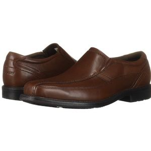 Rockport leather slip on shoes